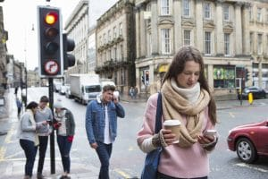 """Distracted Walking"" Leading to More Emergency Room Visits"